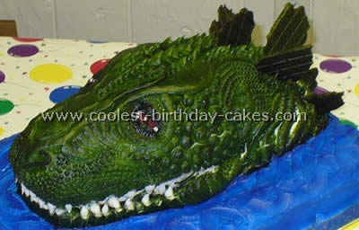 Coolest Godzilla Cake Ideas And Photos