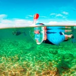 EasyBreath Snorkeling mask - one of the few times you can breathe easy underwater