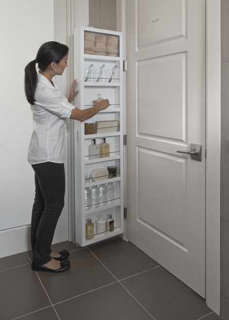 Use Every Inch Of Space With This Cabidor Behind The Door