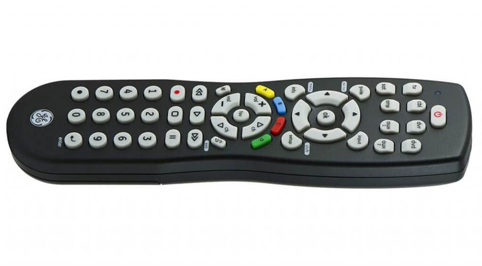 GE 8-Device Universal Remote