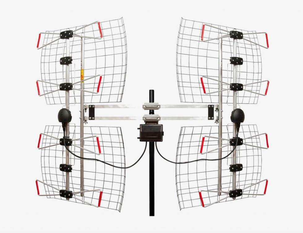Antennas Direct DB8e rotated