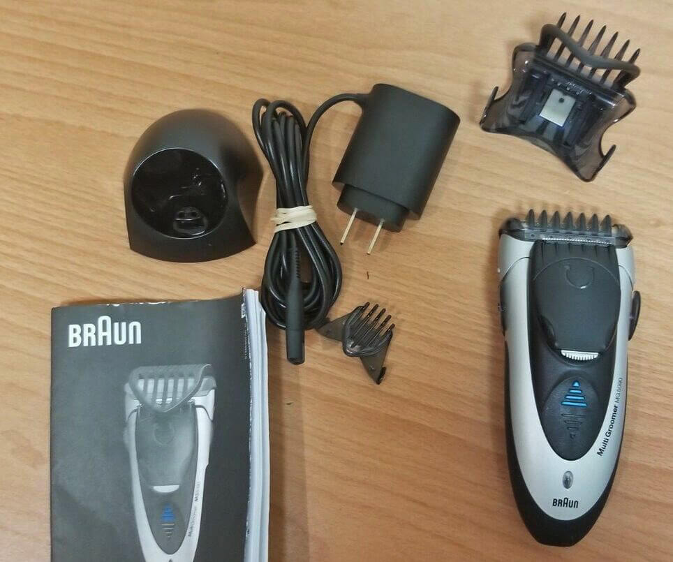 Braun MG5090 Mens Electric Shaver 3-In-1 unboxed