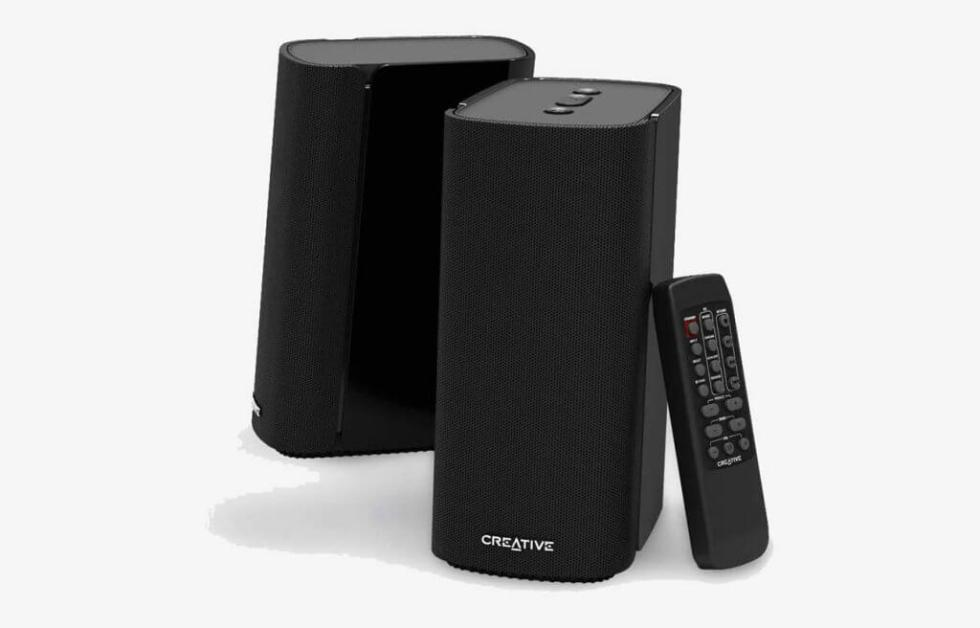 Creative T100 2.0 Compact Hi-Fi Desktop Speakers