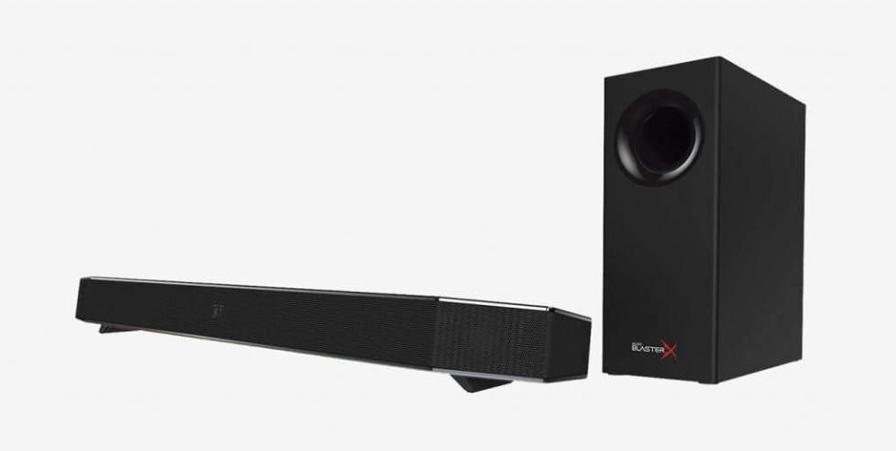 Sound BlasterX Katana Multi-Channel Surround Gaming and Entertainment Soundbar