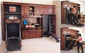 hidden grove fitness armoire collection » coolest gadgets