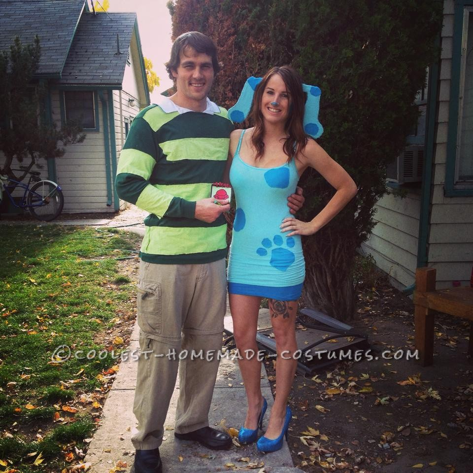 Awesome Blue S Clues Couple Costume