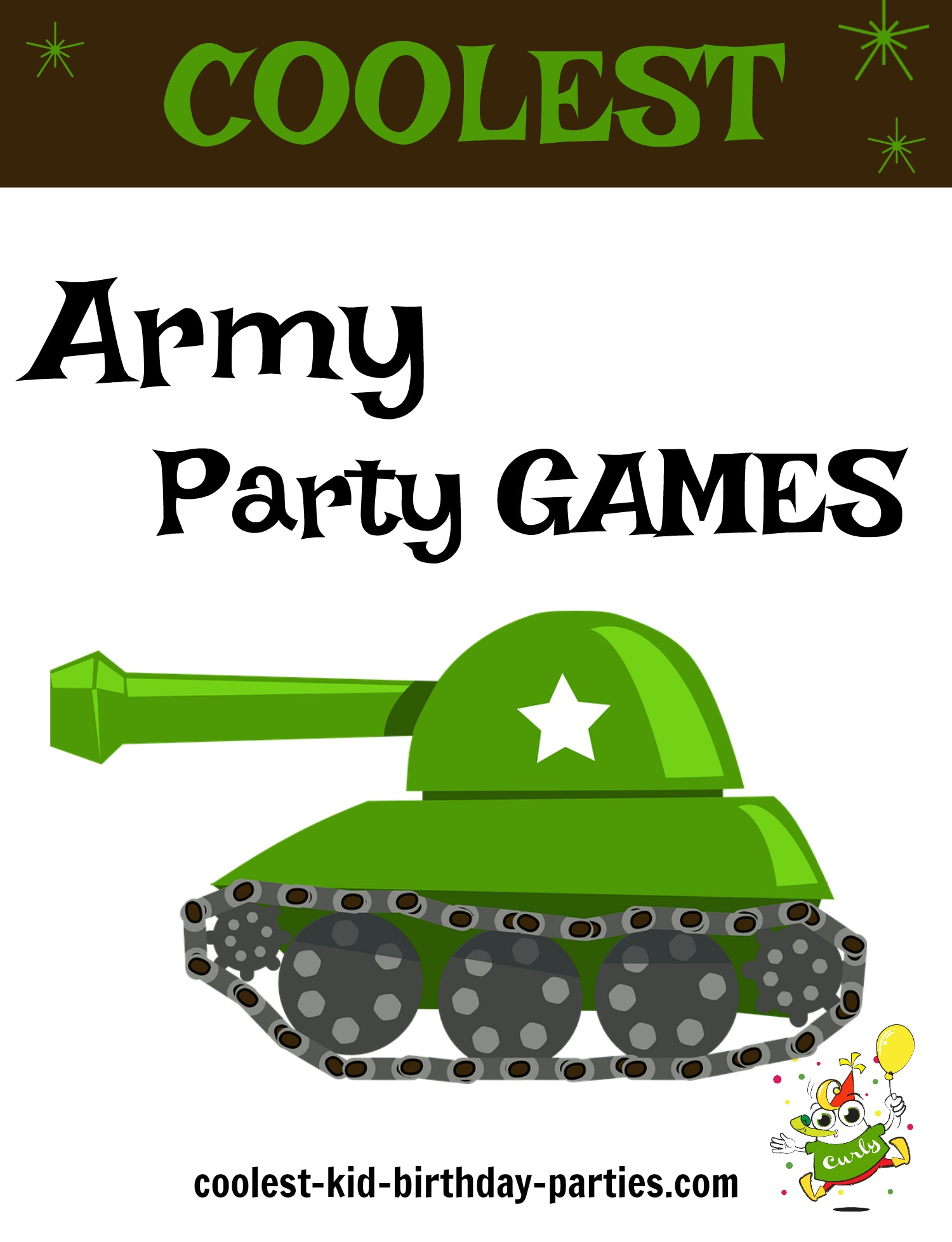 Coolest Birthday Party Games For An Army Theme Party