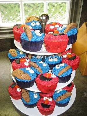 sesame street and elmo birthday party ideas