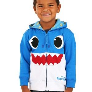 Blue Baby Shark Hoodie