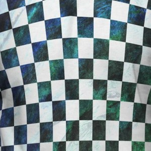 Blue Green Checkered Hoodies