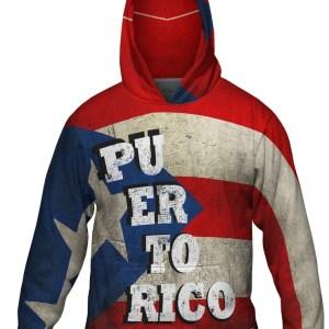 Puerto Rico Hoodie LG