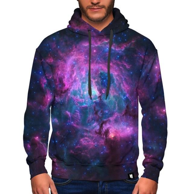 Purple Galaxy Hoodie LG