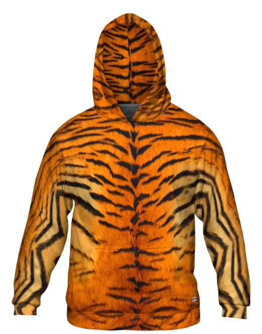Tiger Skin Hoodie Design