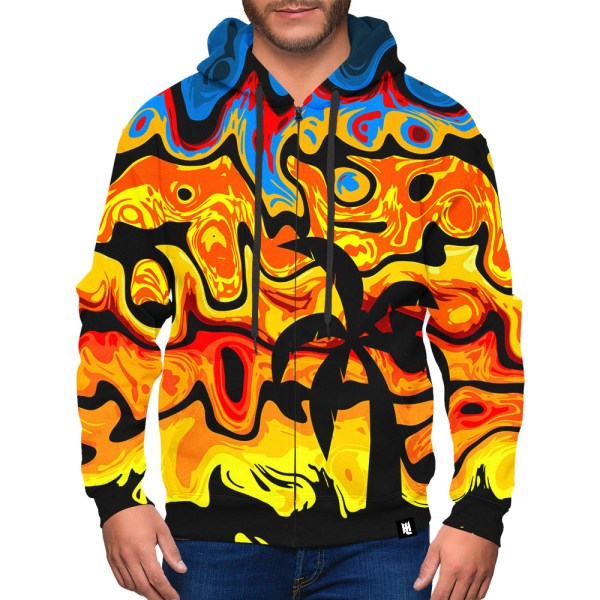 Tropical Abstract Hoodie design