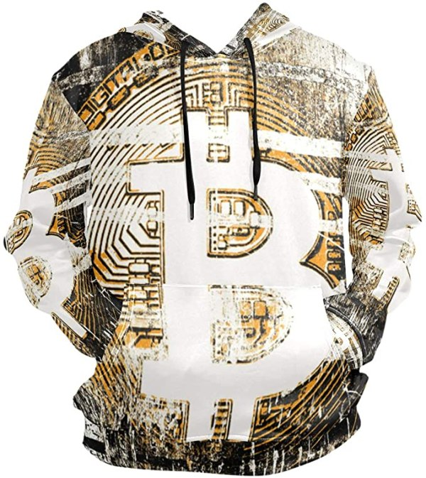 Bitcoin Hoodie for Men
