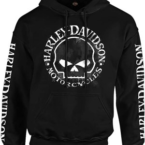 Harley Davidson Hoodie Mens