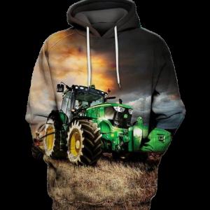 John Deere Tractor Hoodie