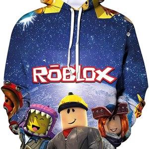 Roblox Hoodie in Blue