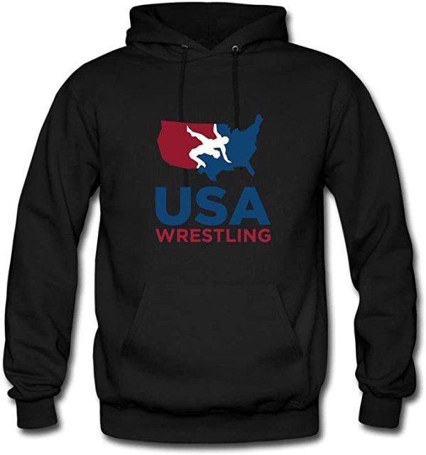 USA wrestling hoodie