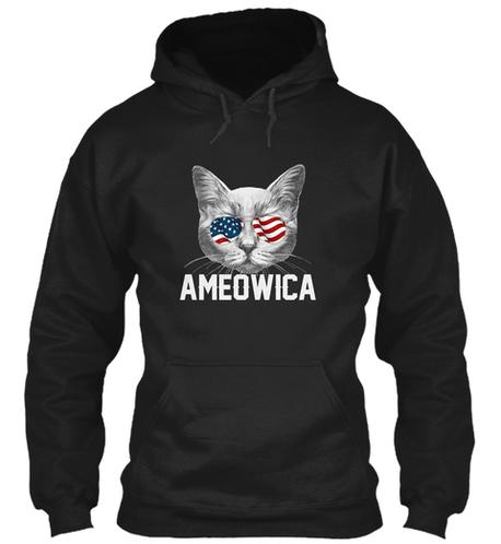 Ameowica Hoodie long sleeve shirt