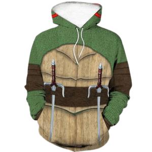 Raphael hoodie TMNT