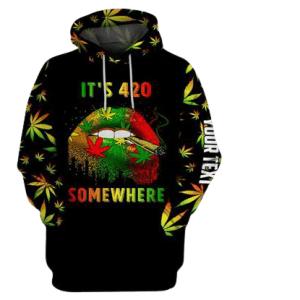 It's 420 Somewhere Hoodie