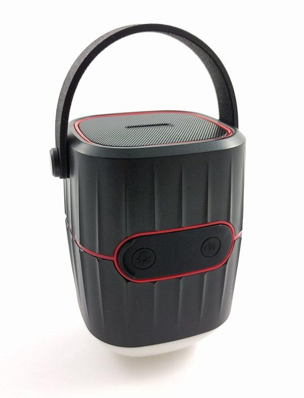 Camping-Laterne-Lautsprecher und Powerbank