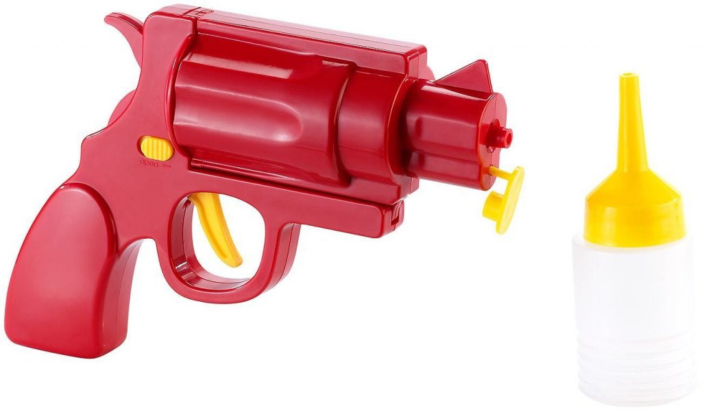 Ketchup Pistole witziges Gadget