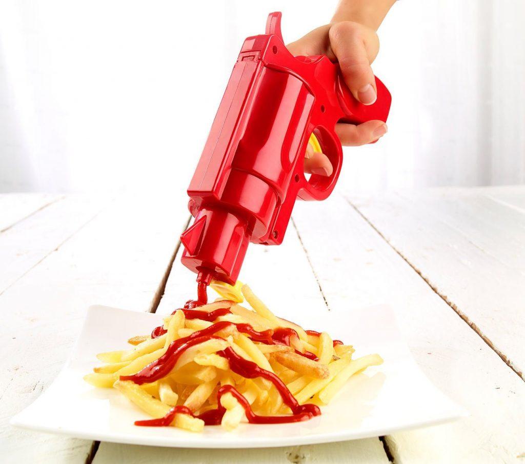 Ketchup Pistole witziges Gadget 3