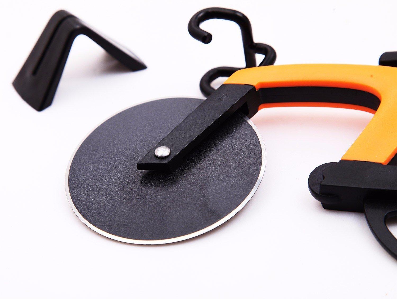 Pizzaschneider im Fahrrad Design Küchen Haushalts Gadget 2