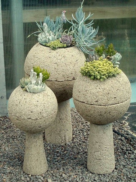 Large Ceramic Bowl Planters