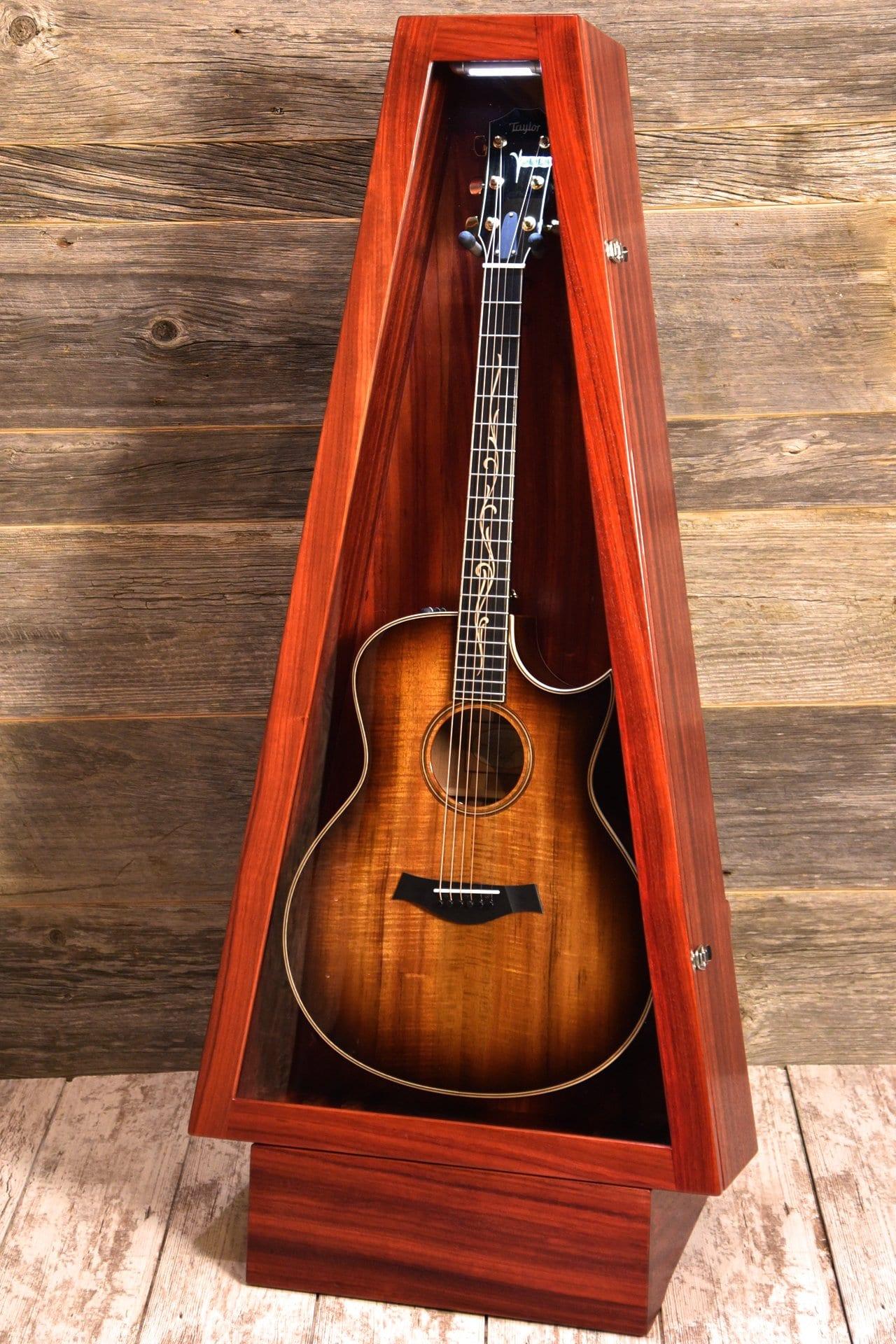 guitar display cases protect your instrument. Black Bedroom Furniture Sets. Home Design Ideas