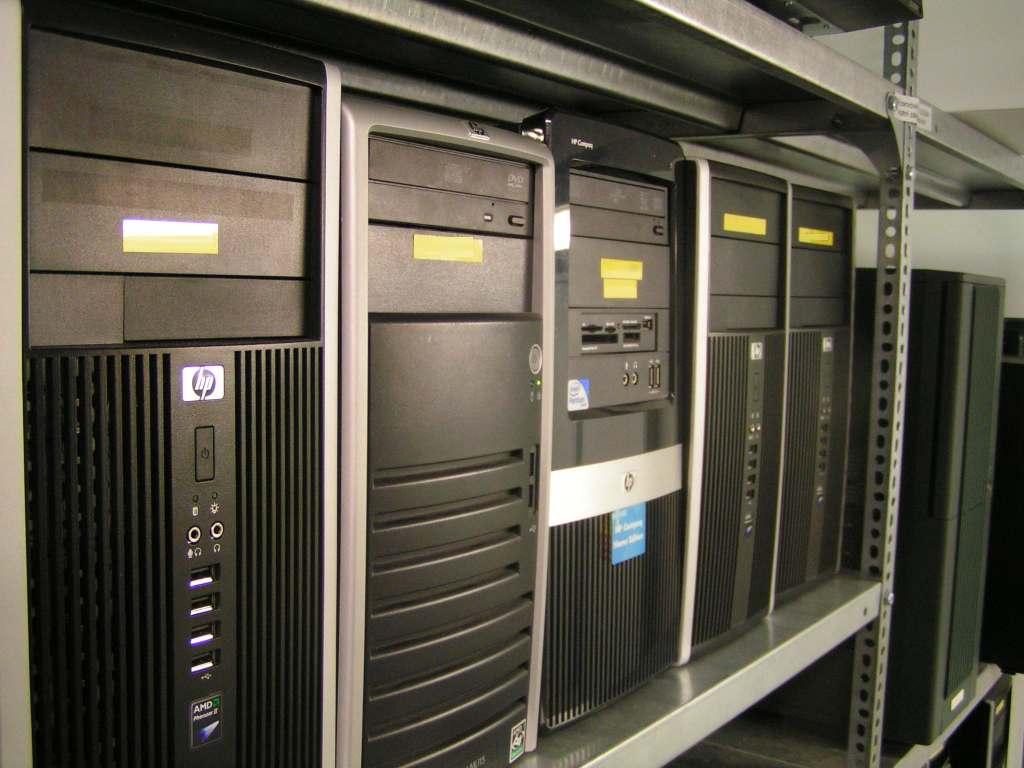 coolhousing data centre from a desktop