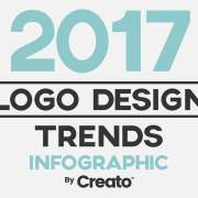 Thumbnail ontwerp stijles 2017 infographic