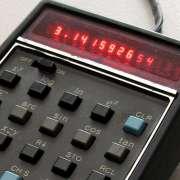 HP calculator pi 3.14