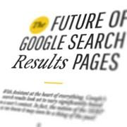 infographic toekomst van Google zoekresultateb