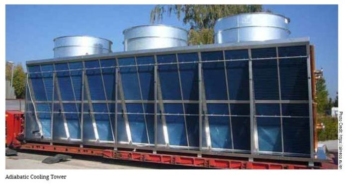Best Practices Adiabatic Cooling Tower | Chillers & Cooling