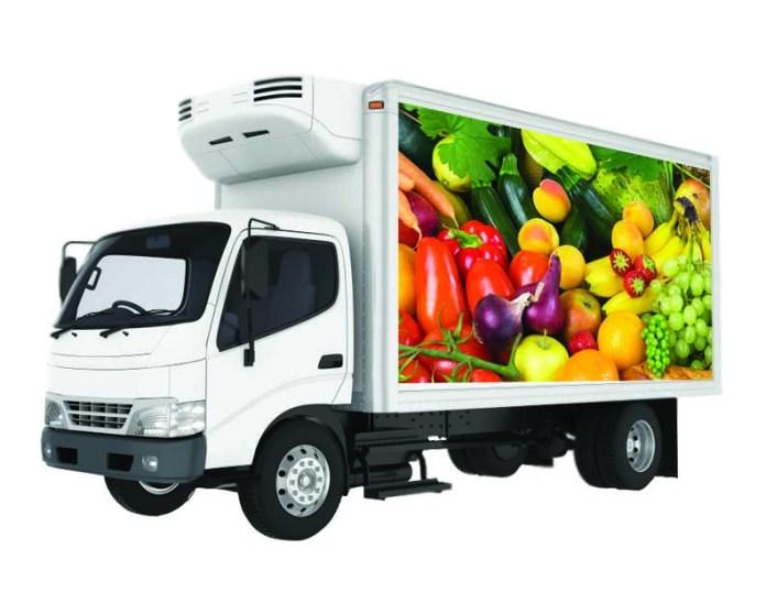 Cold Chain Logistics Supply Food