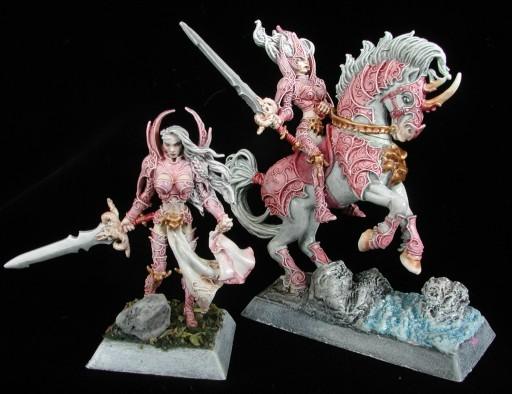 Warrior Female Miniature