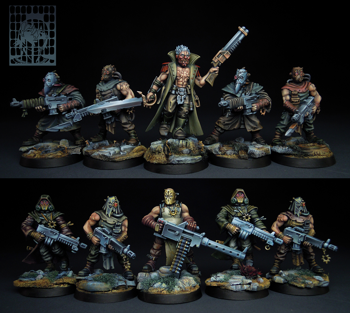 CoolMiniOrNot Chaos Cultists Of Sect Tetchvar By We7