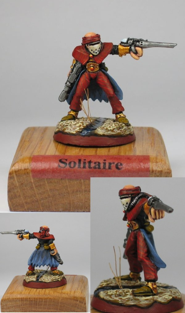 CoolMiniOrNot Harlequin Solitaire By Blackmane