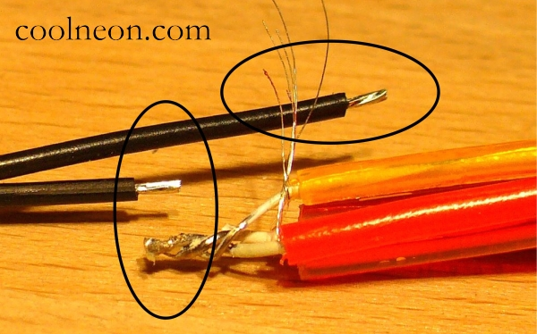 The Ultimate Beginner\'s Guide To Soldering Cool Neon EL Wire ...
