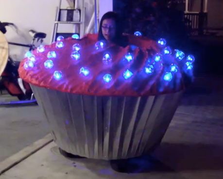 Giant Cupcake - Total Control Lighting