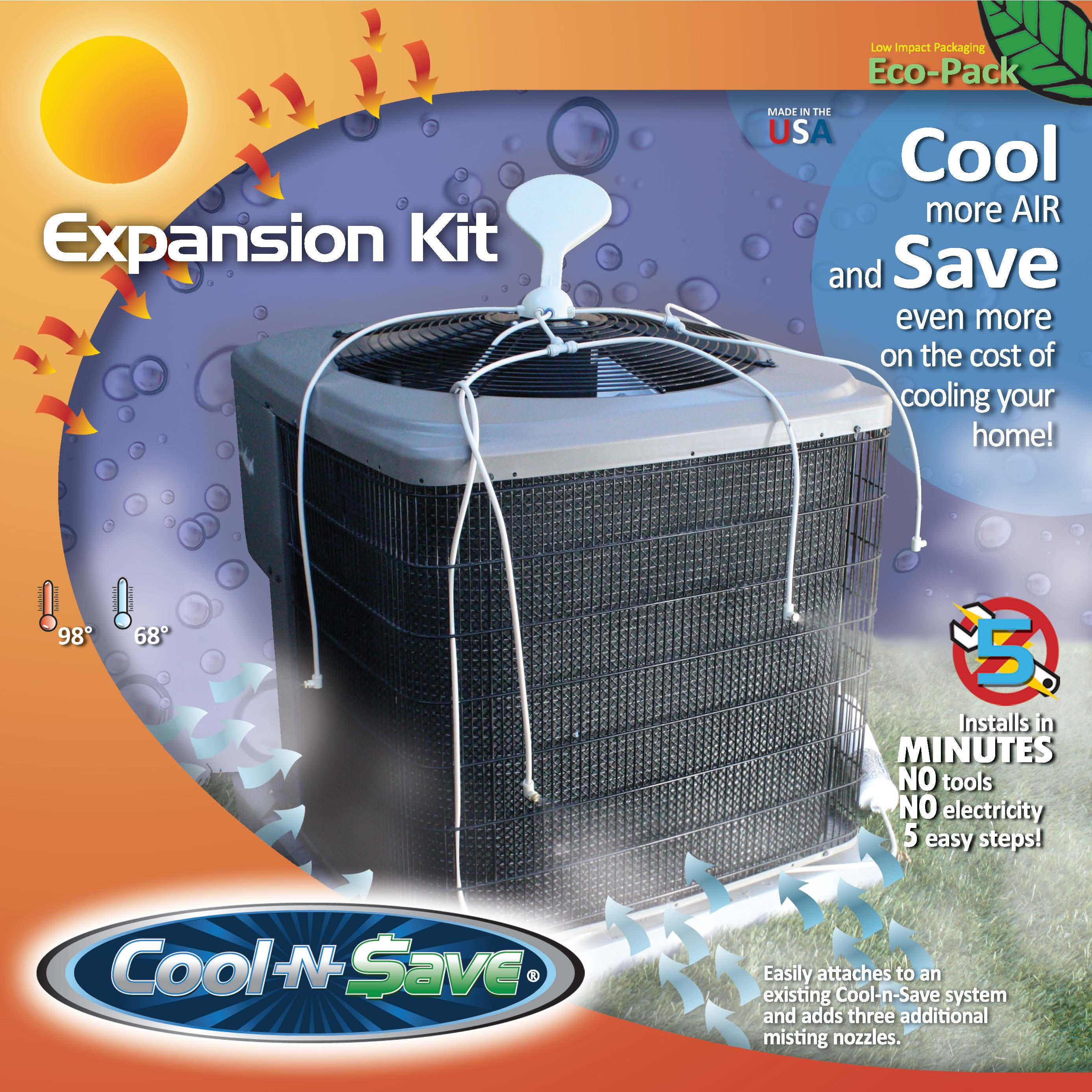 Misting Systems For Ac Units : Cool n save expansion kit keeping ac units