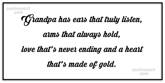 Grandfather Quotes Sayings About Grandpa Images