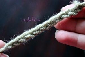 The Basic Crochet Chain, a.k.a The Foundation Chain