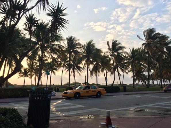 Ocean Drive, die Stadt erwacht