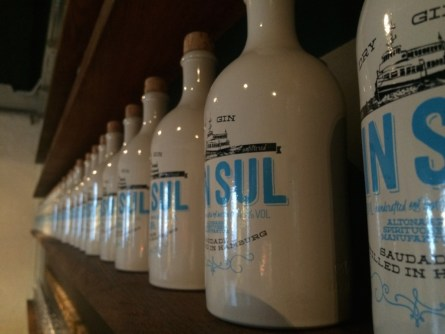 GIN SUL Tonflaschen