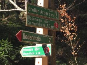 Bodenmais – Wanderwege