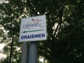 Draisinenstation in Vockerrode